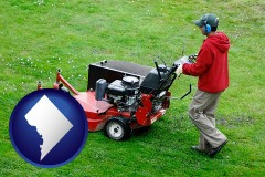washington-dc a lawn mowing service