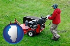 illinois a lawn mowing service