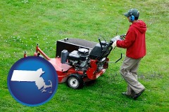 massachusetts a lawn mowing service