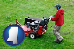 mississippi a lawn mowing service