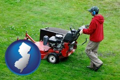 new-jersey a lawn mowing service