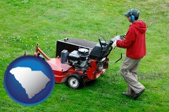 south-carolina a lawn mowing service
