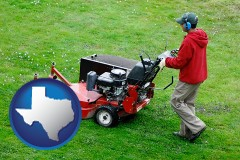 texas a lawn mowing service