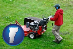 vermont a lawn mowing service