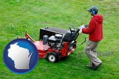 wisconsin a lawn mowing service