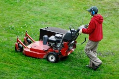 a lawn mowing service